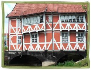 Schiefes Haus in Wismar